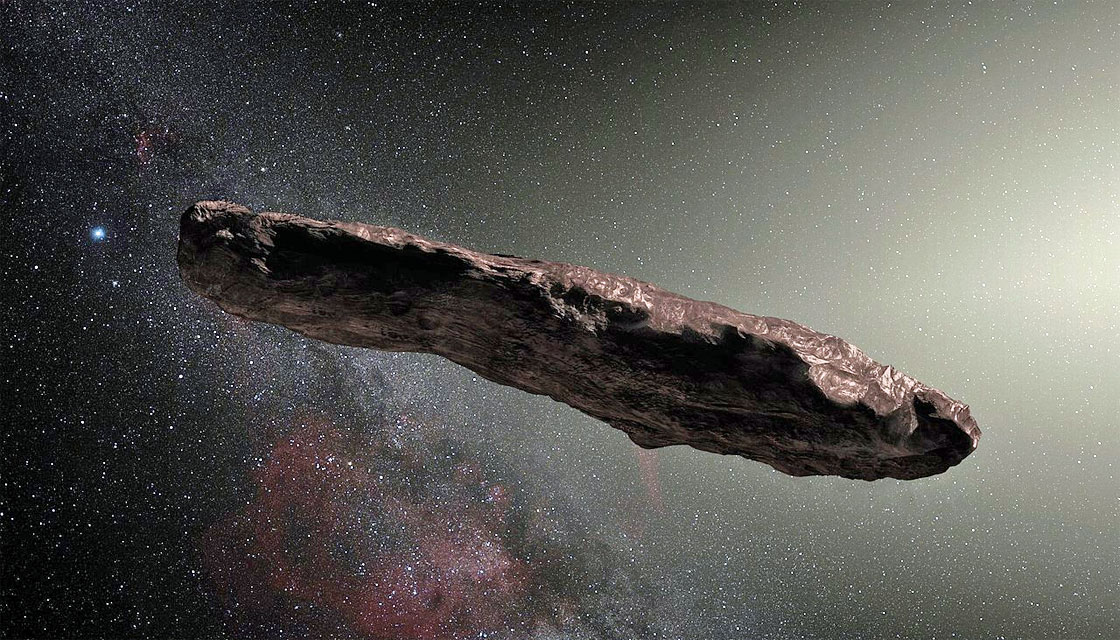 Holy crap! A Harvard physicist thinks we might have just seen an alien spacecraft!
